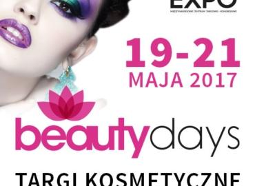Targi Beauty Days 19-21 maja w Nadarzynie