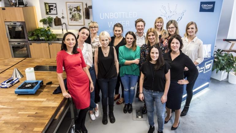 Grohe Polska – kampania Grohe Blue Home